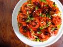 tomato avocado tart